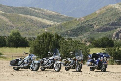 2007-Harley-Davidson-Touring-GroupShot