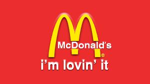 i'm lovin it