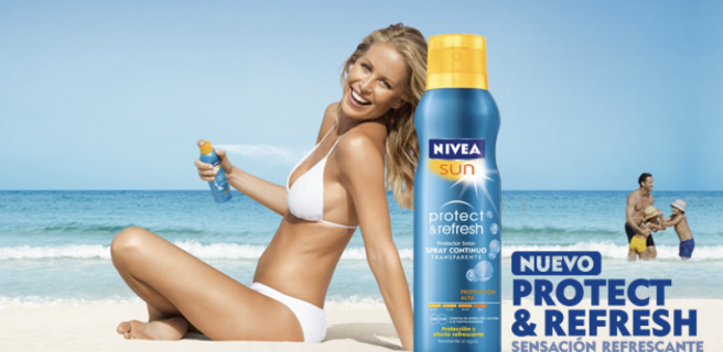 Clean! Fresh! Healthy! —-That's NIVEA!