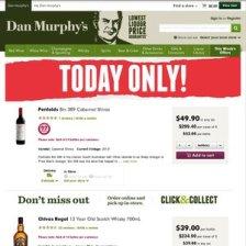 EDLP offer. Source: Dan Murphy's